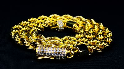 "Gold ""Rope to Heaven"" Rope Chain"